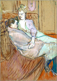 Henri de Toulouse-Lautrec - Frau in Montrouge