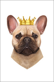 Valeriya Korenkova - French bulldog with crown