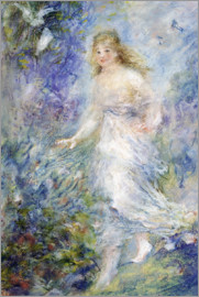 Pierre-Auguste Renoir - Spring (The Four Seasons)