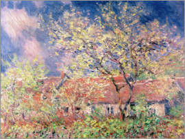 Claude Monet - Frühling in Giverny, c.1880