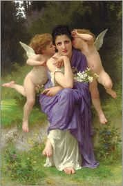 William Adolphe Bouguereau - Frühlingsmelodie