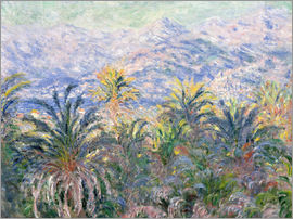 Claude Monet - Garten in Bordighera