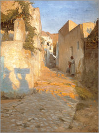 Peter Vilhelm Ilsted - Gasse in Tunesien