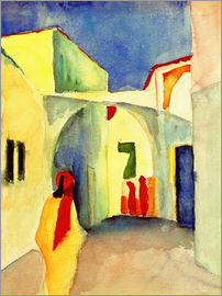 August Macke - Alley in Tunis