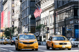 Matteo Colombo - Gelbe Taxis auf der 5th Avenue, New York, USA