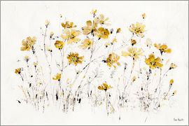 Lisa Audit - gelbe Wildblumen I