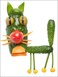Vegetable animals - cat