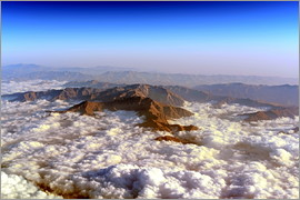 HADYPHOTO GEO ART - GEO ART   ALBORZ MOUNTAINS PARTIALLY IN CLOUDS   NORTH OF TEHERAN   IRAN 3