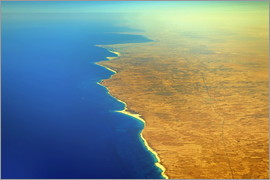 HADYPHOTO GEO ART - GEO ART   COASTLINE OF EGYPT   WEST OF ALEXANDRIA