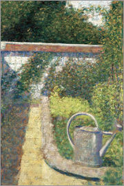 Georges Seurat - Gießkanne in Le Raincy