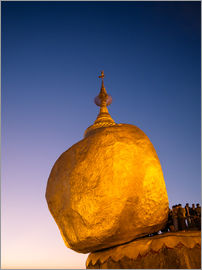 Matteo Colombo - Golden Rock (Goldener Fels), Myanmar, Asien