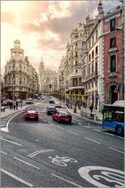 Stefan Becker - Gran Via, Madrid, Spanien