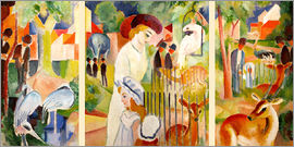 August Macke - The Zoo