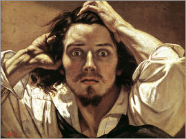 Gustave Courbet - Selfportrait Gustave Courbet, the Desperate