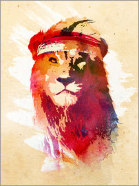 Robert Farkas - Gym lion