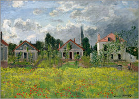Claude Monet - Häuser in Argenteuil