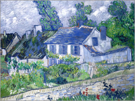 Vincent van Gogh - Häuser in Auvers