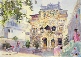 Lucy Willis - House on the Hill, Bombay