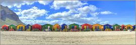 HADYPHOTO by Hady Khandani - HDR PANO   COLORFUL HUTS   MUIZENBERG   SOUTH AFRICA 2