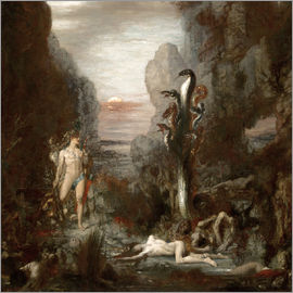 Gustave Moreau - Hercules and the Lernaean Hydra