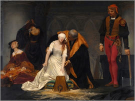Paul Delaroche - Hinrichtung der Lady Jane Grey