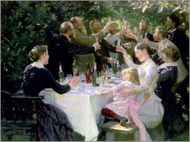 Peder Severin Kroyer - Hip Hip Hurra! Künstlerfest in Skagen