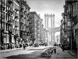 Christian Müringer - Historisches New York: Pike and Henry Streets, Manhattan