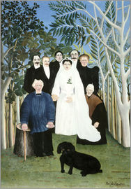 Henri Rousseau - Wedding in the countryside