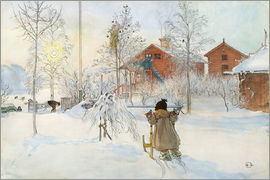 Carl Larsson - The Yard and Wash-House