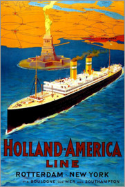 Holland America Line - Rotterdam nach New York