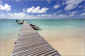 Lee Frost - Wooden jetty, Ile aux Cerfs