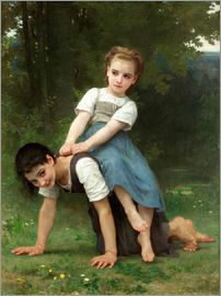 William Adolphe Bouguereau - Huckepack