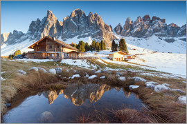 Matteo Colombo - Hut and Odle mountains, Dolomites