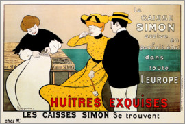 Leonetto Cappiello - Huitres Exquises