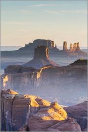 Matteo Colombo - Hunts Mesa Sonnenaufgang, Monument Valley Tribal Park, Arizona, USA