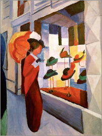 August Macke - Hutladen