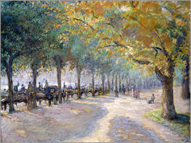 Camille Pissarro - Hyde Park, London. 1890