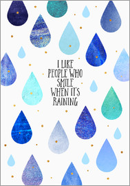 Elisabeth Fredriksson - I like people who smile when its raining