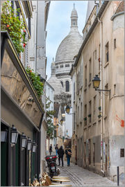 Fine Art Images - Streets of Montmartre Paris