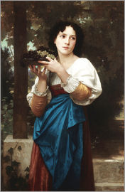 William Adolphe Bouguereau - In der Weinlaube