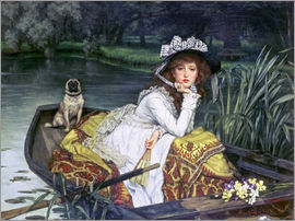 James  Tissot - Reflections