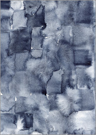 Nic Squirrell - Indigo Aquarell