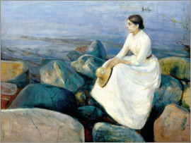 Edvard Munch - Inger am Strand