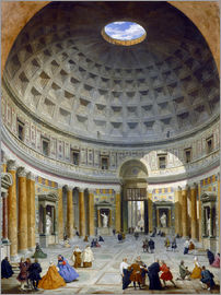 Giovanni Paolo Pannini - Interior of the Pantheon