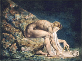 William Blake - Isaak Newton, 1795