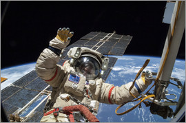 Nasa - ISS spacewalk, astronaut photograph