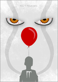 HDMI2K - IT - Pennywise - Minimal Alternative Movie Fanart