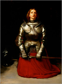 Sir John Everett Millais - Jeanne d´Arc