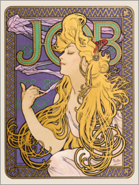Alfons Mucha - Job, blond