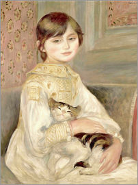 Pierre-Auguste Renoir - Julie Manet with Cat